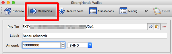 StrongHands Wallet