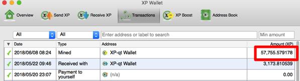 XP Wallet