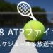 錦織出場!2018 ATPツアーファイナルズのテレビ放送スケジュール・インターネット中継予定!
