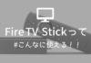 【2019】Fire TV Stickを使うとテレビで見られるサービスはこれ!!